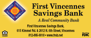 First Vincennes Savings Bank ad