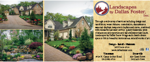 Dallas Foster Landscaping ad