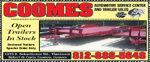 Coomes Automotive ad