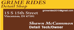 Grime Rides Detail Shop Vincennes Indiana