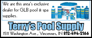 Terry's Pool Supply Vincennes Indiana