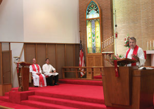 Guest speaker at St. Peter Lutheran