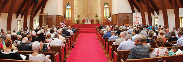 'Firm in the faith:' St. Peter Lutheran celebrates 150th anniversary