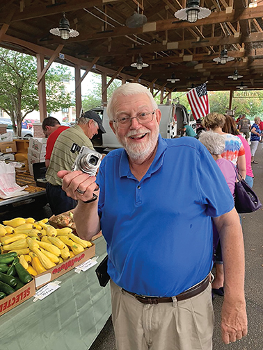 Duane Chattin at the Farmers' Market