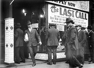 Last call before Prohibition