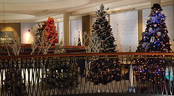 The Festival of Trees in Indianapolis is a family event